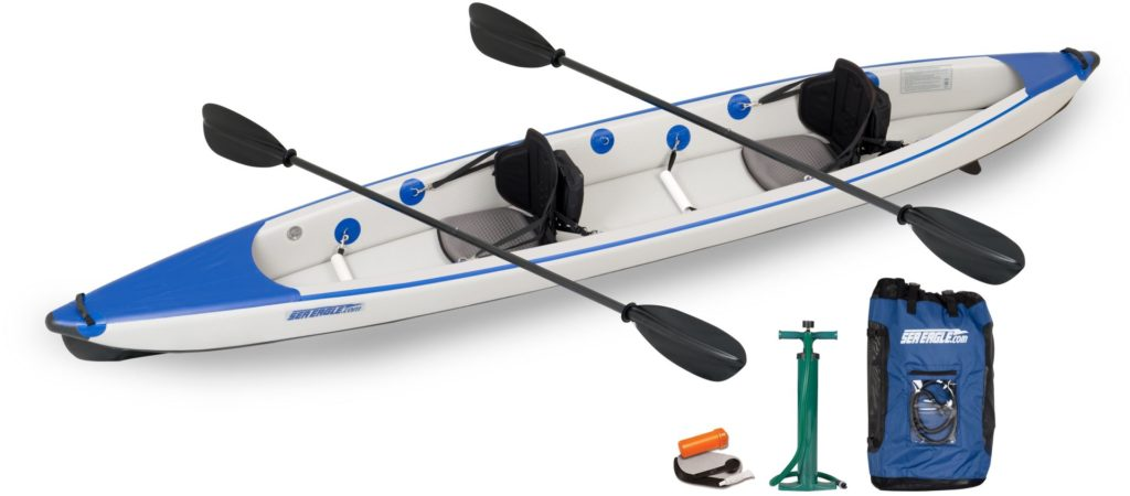 Sea Eagle fastest inflatable kayak razorlite 473rl tandem