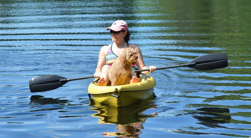 kayaking-with-dog