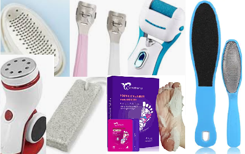 type of callus remover foot